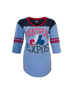 Montreal Expos Women's Replay Tee