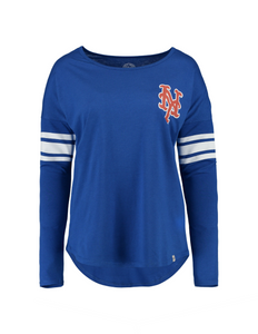New York Mets Courtside Women's Tee