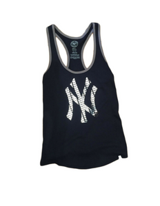New York Yankees Navy Women's Tank