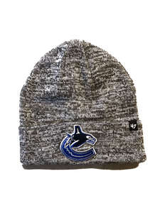 Vancouver Canucks Checker Cuff Knit Toque