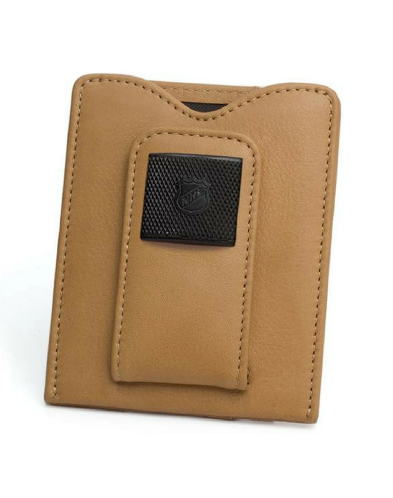 NHL Game-Used Puck Money Clip Wallet