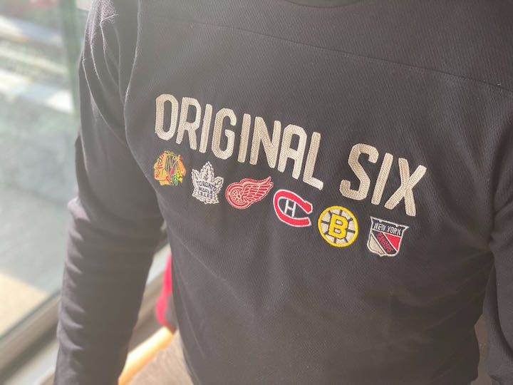 Original Six NHL Wilson Jersey-Inspired Long Sleeve