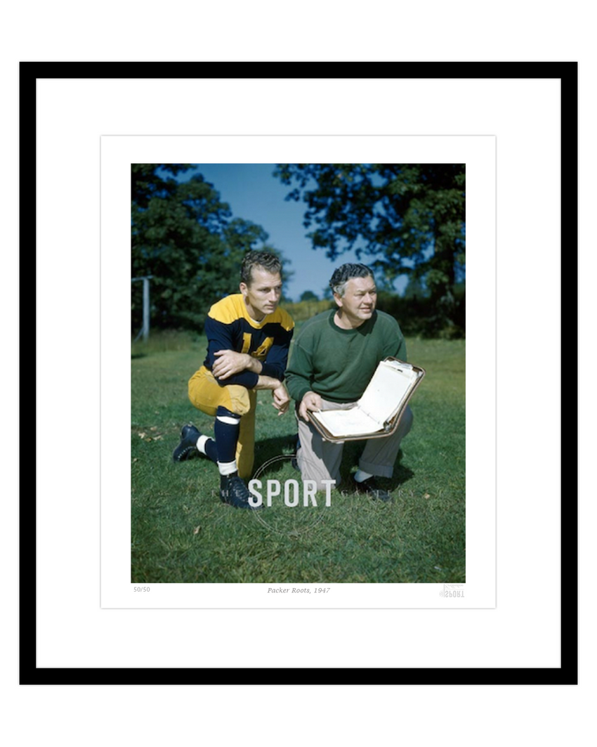 Packer Roots, 1947 (Curly Lambeau & Don Hudson)