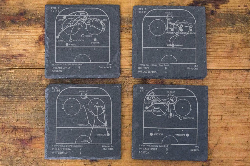 Philadelphia Flyers Greatest Plays in Sports Coasters