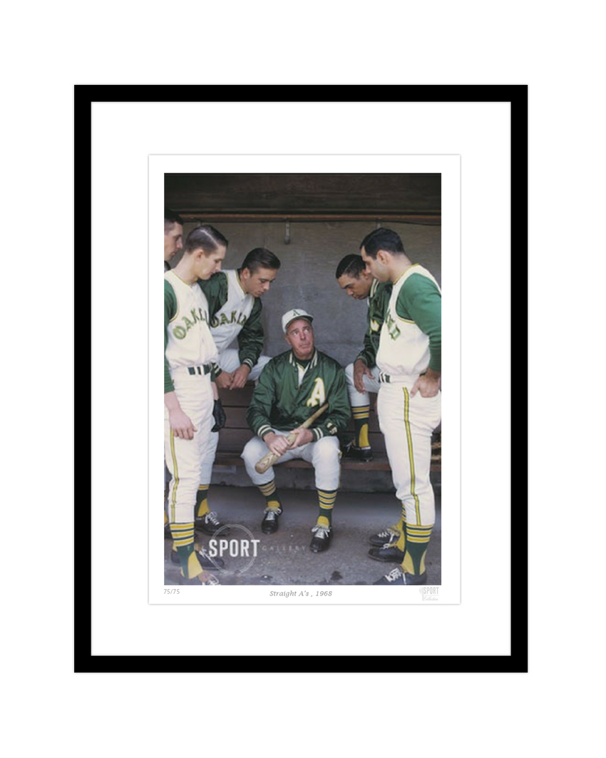 Straight A's, 1968 (Oakland Athletics and Joe Dimaggio)