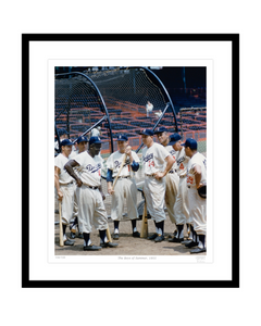 Boys of Summer, 1955 (Jackie Robinson, Duke Snider, Don Newcombe)