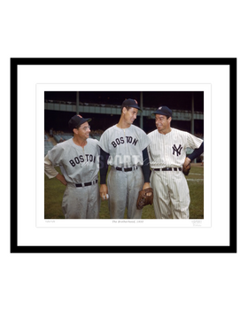 The Brotherhood, 1950 (Ted Williams, Joe Dimaggio, Dom Dimaggio)