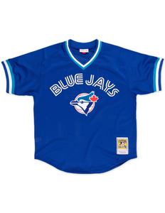 Toronto Blue Jays Mesh V-Neck BP Jersey
