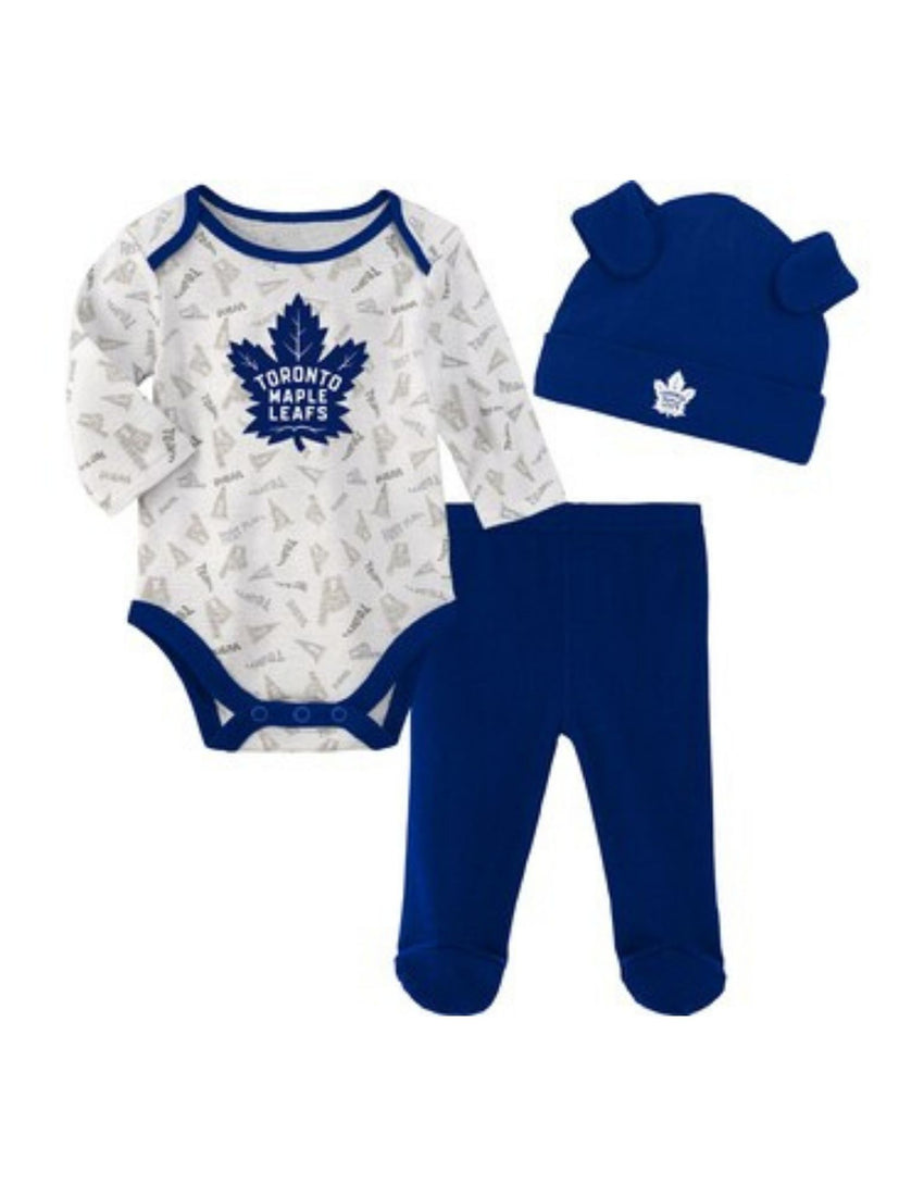 Toronto Maple Leafs Lil Player Creeper Set