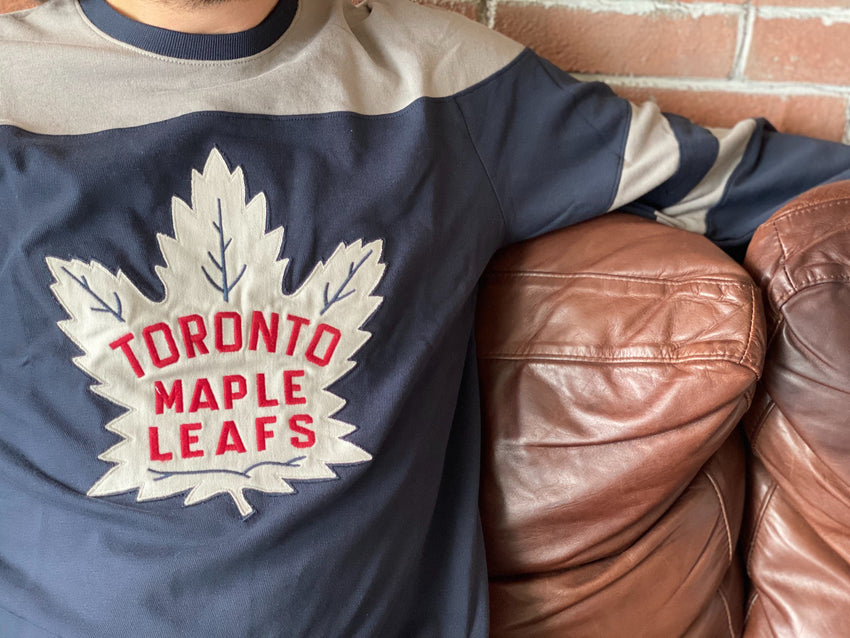 Toronto Maple Leafs 1947 48 Jersey Inspired Gunner Sweater The Sport Gallery