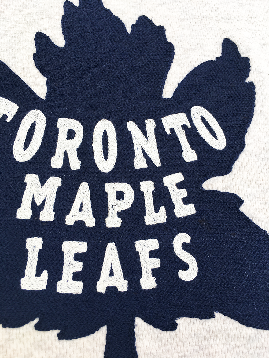 Toronto Maple Leafs Wilson Vintage-Inspired Jersey
