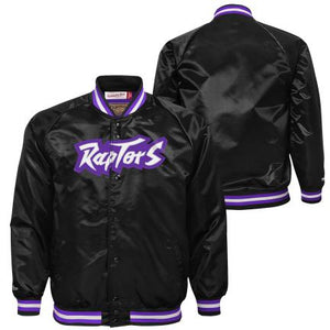 Toronto Raptors Retro Satin Jacket Youth