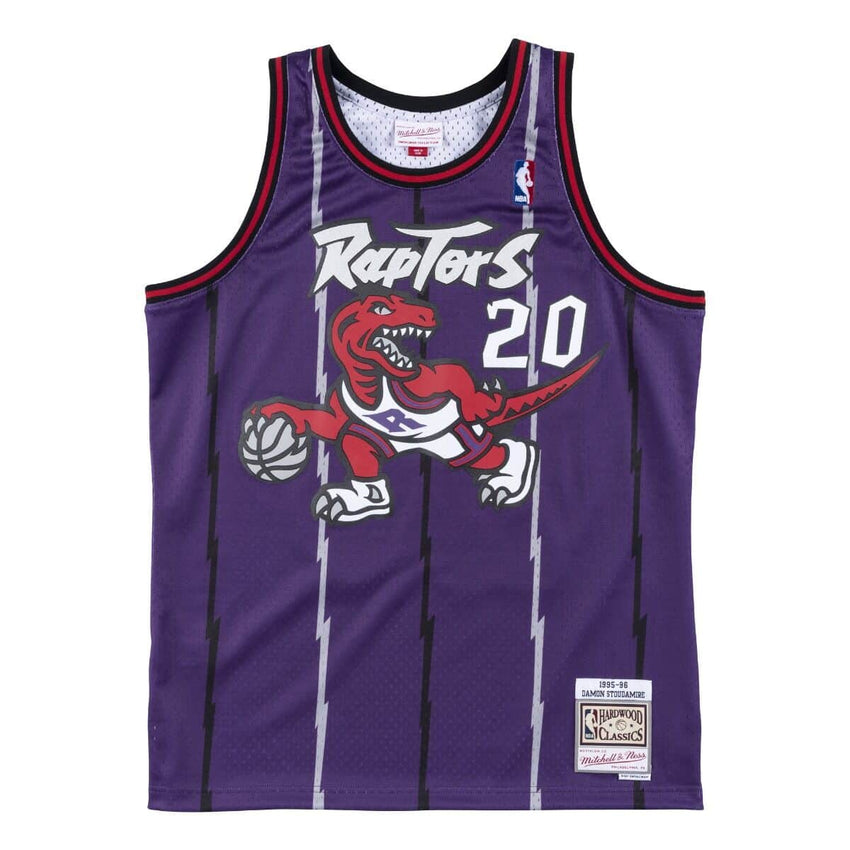 Toronto Raptors Damon Stoudamire 1995-96 Swingman Jersey (Purple)