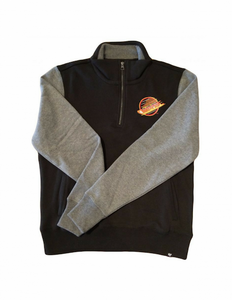 Vancouver Canucks Triple Coverage 1/4 Zip Sweater