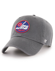 Winnipeg Jets Heritage Clean Up Cap (Grey)