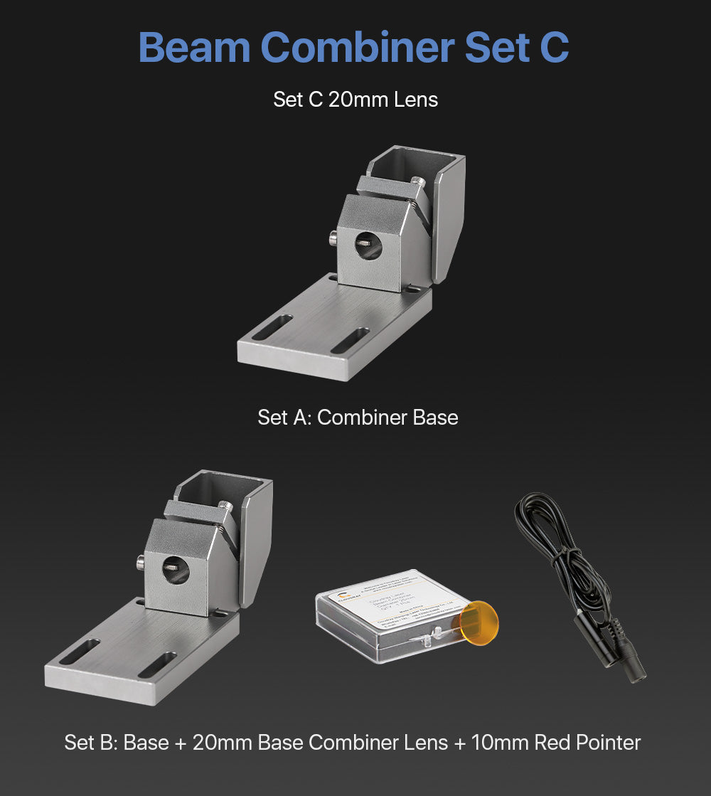 Cloudray 1st Mirror Mount With Beam Combiner Style C