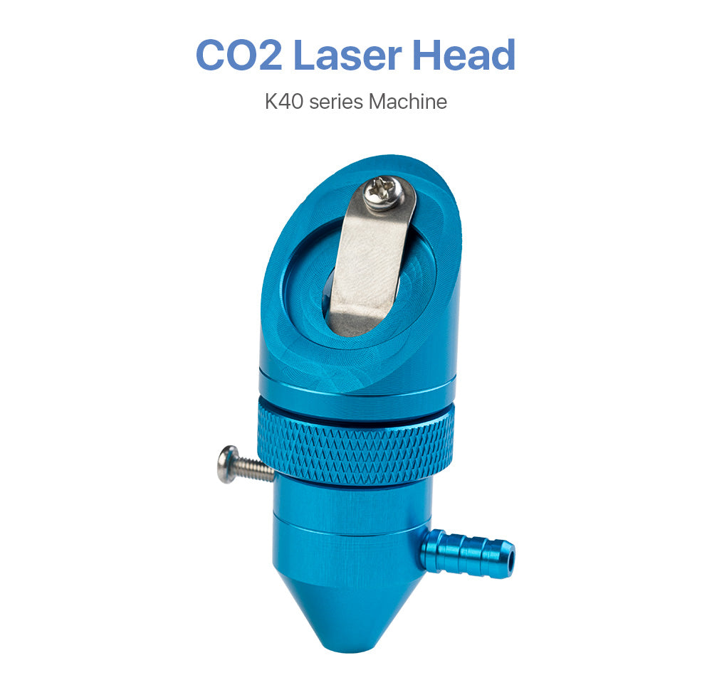 CO2 Laser Head for K40 Series Laser Engraving Cutting Machine