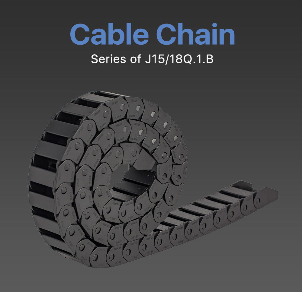 Cloudray J15Q.1.B Bridge Type Non-Opening Cable Drag Chains