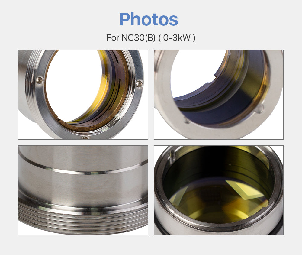 Focusing & Collimating Lens With Lens Tube For WSX NC30/30B