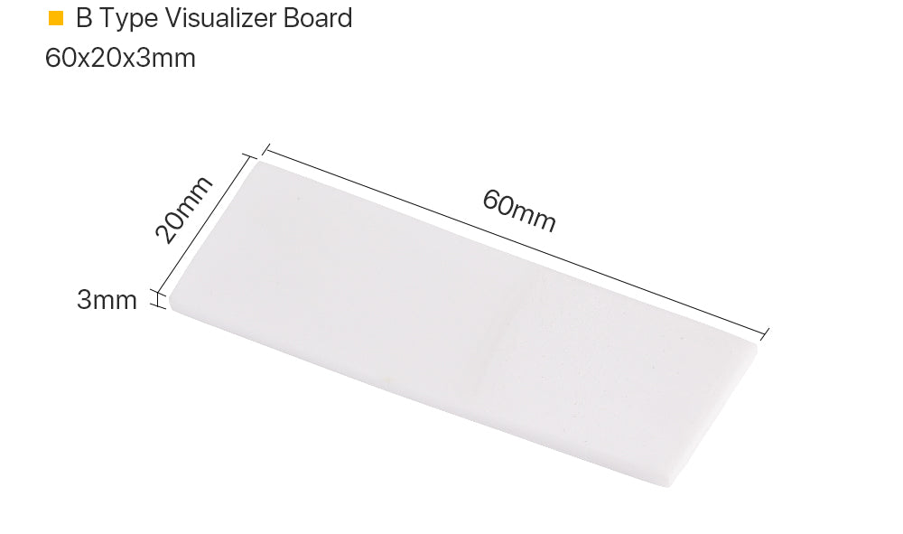 Cloudray IR Detection Alignment Card For Laser Marking