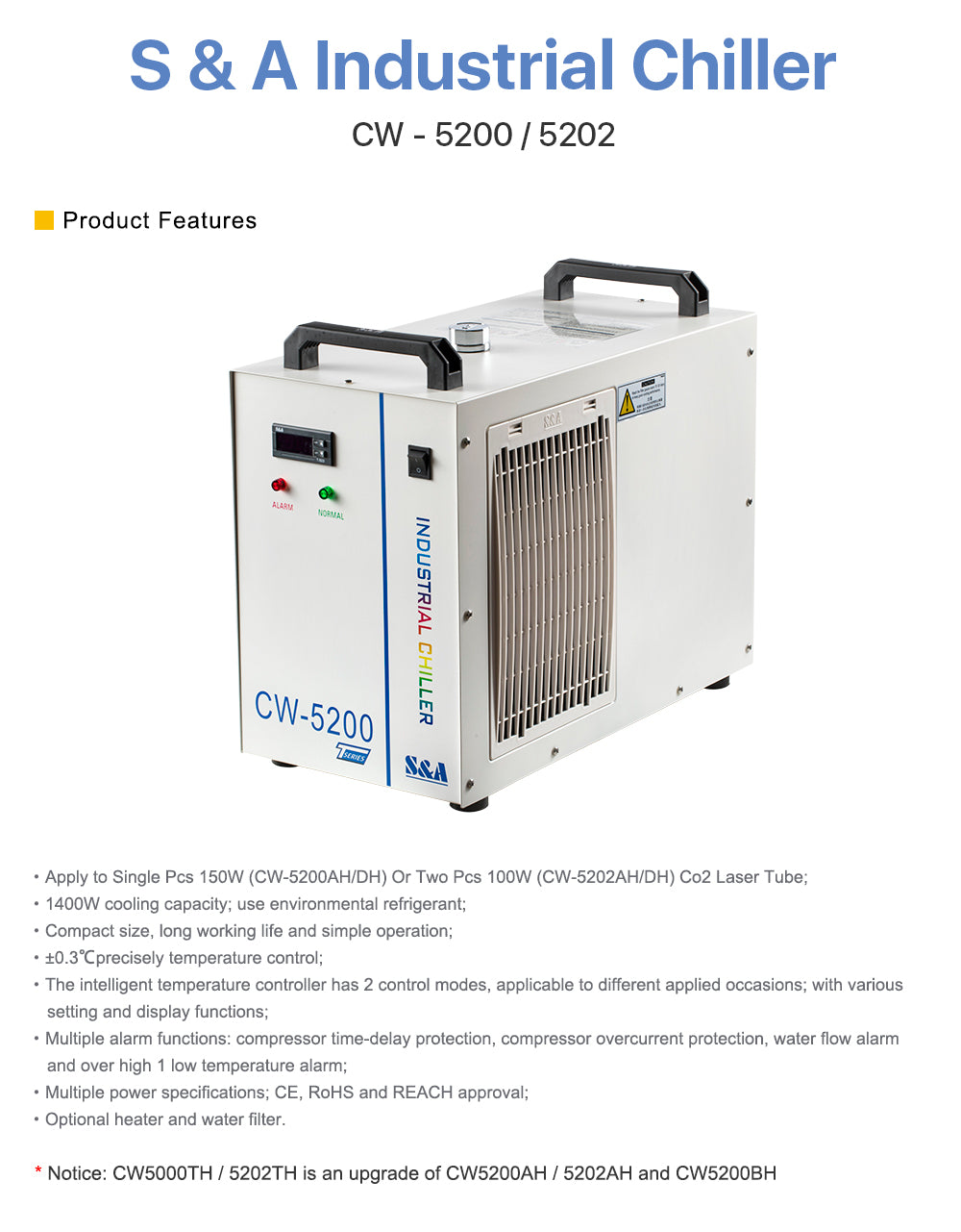 Cloudray S&A Industrial Chiller
