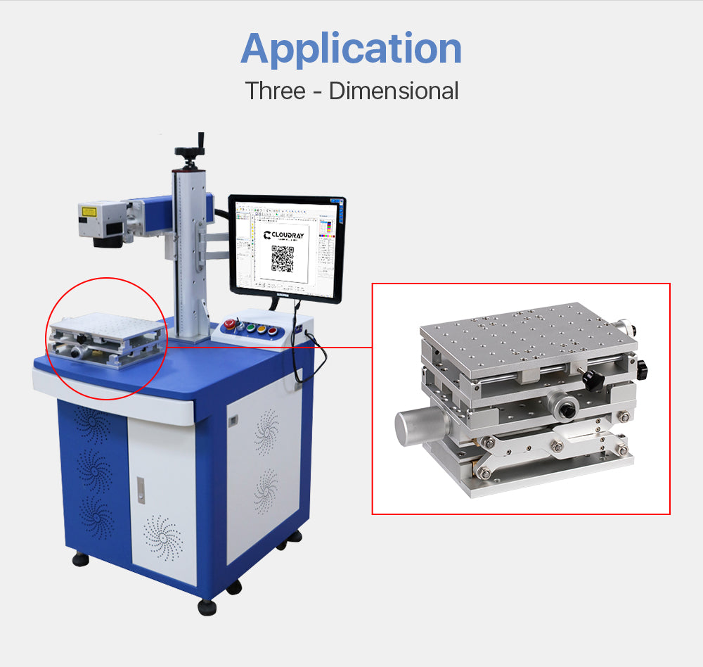 DT Laser Marking Machine Workbench Three-Dimensional Workstation