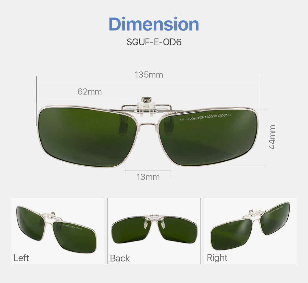 Safety Goggles Protective Goggles for Fiber Laser