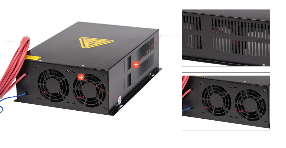 Cloudray 150W HY-T Series T150  CO2 Laser Power Supply