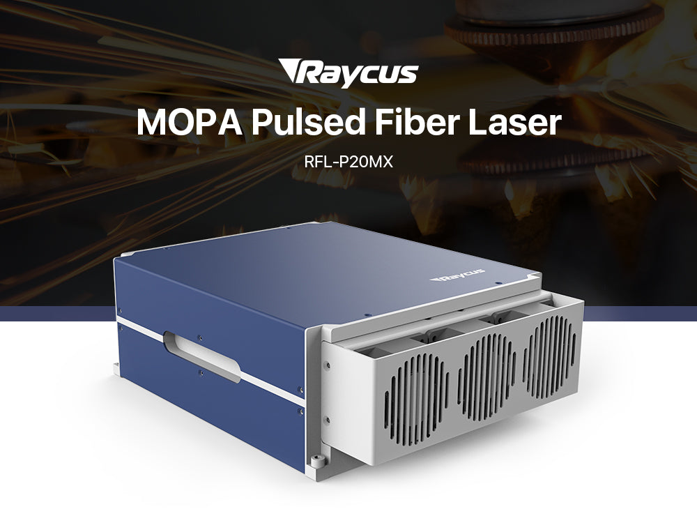 Raycus 20W Q-switched Pulse Fiber Laser Source RFL-P20MX for 1064nm Laser Marking Machine