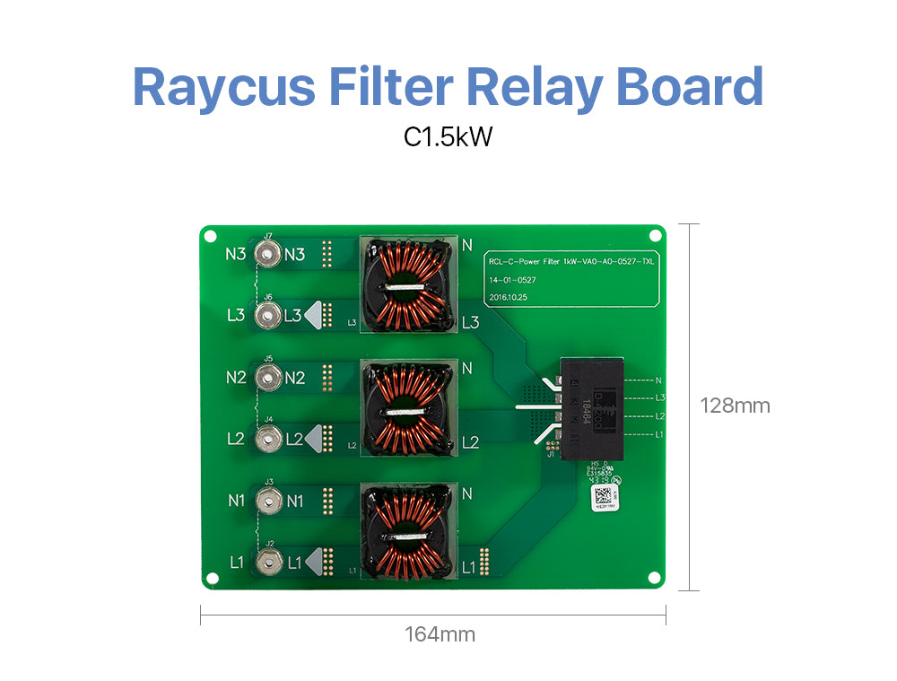 Cloudray Raycus Filter Relay Board