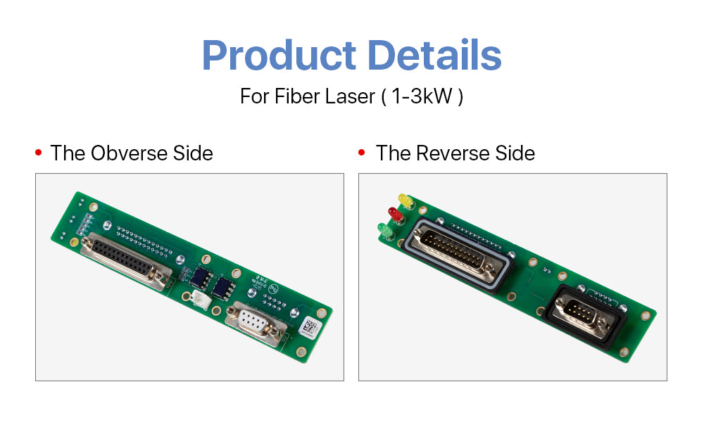 Cloudray Raycus Interface Board For 1-3KW Fiber Laser