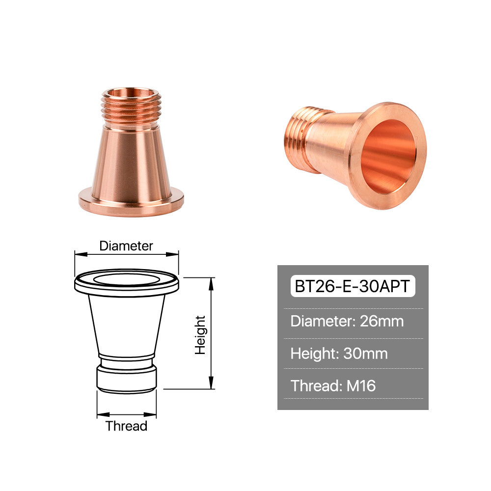 Cloudray OEM Bystronic B Typle Nozzles Caliber 0.8-4.0mm