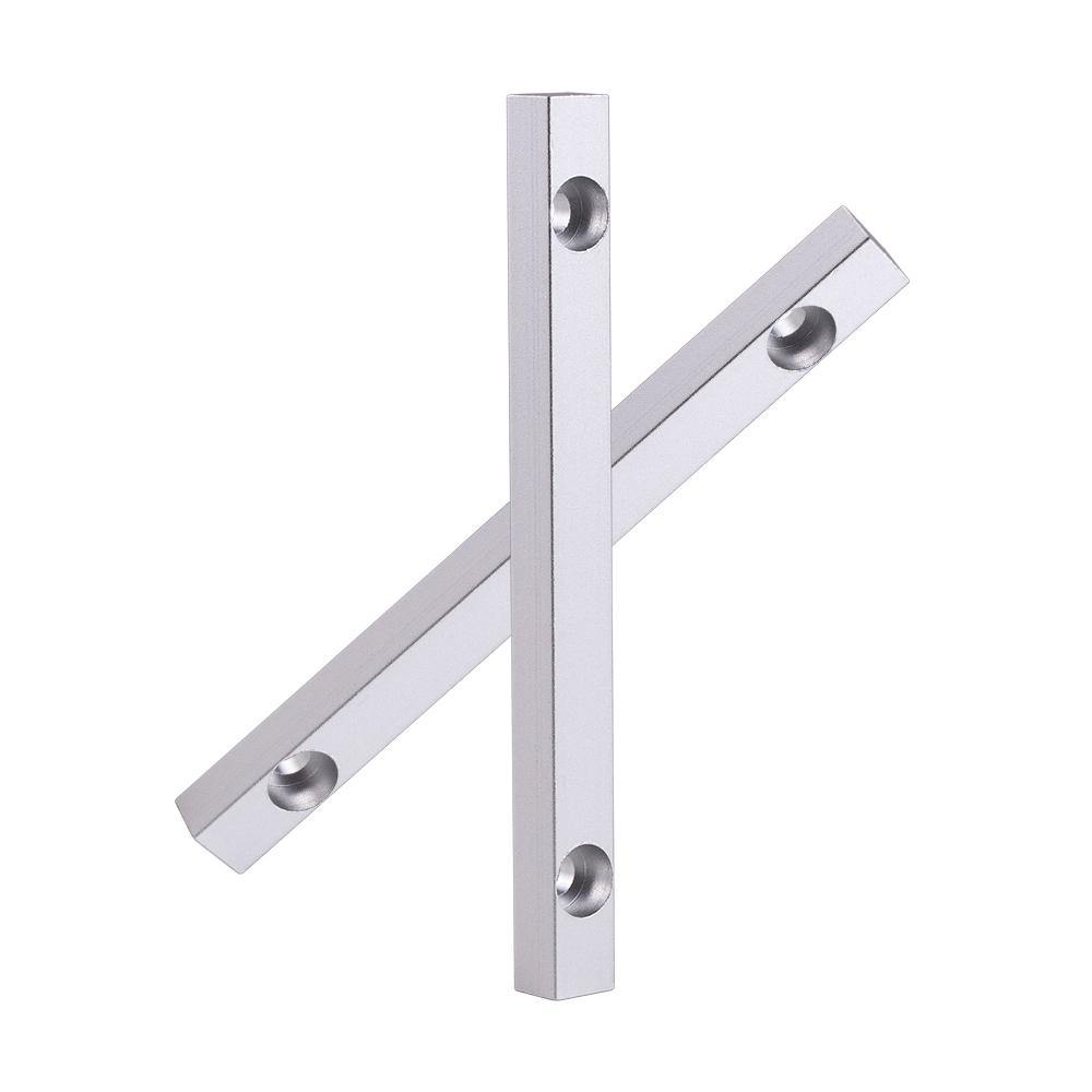 Cloudray Aluminum Positioning Bar 125*12mm Hole 6mm 2pcs for Fiber Marking Worktable