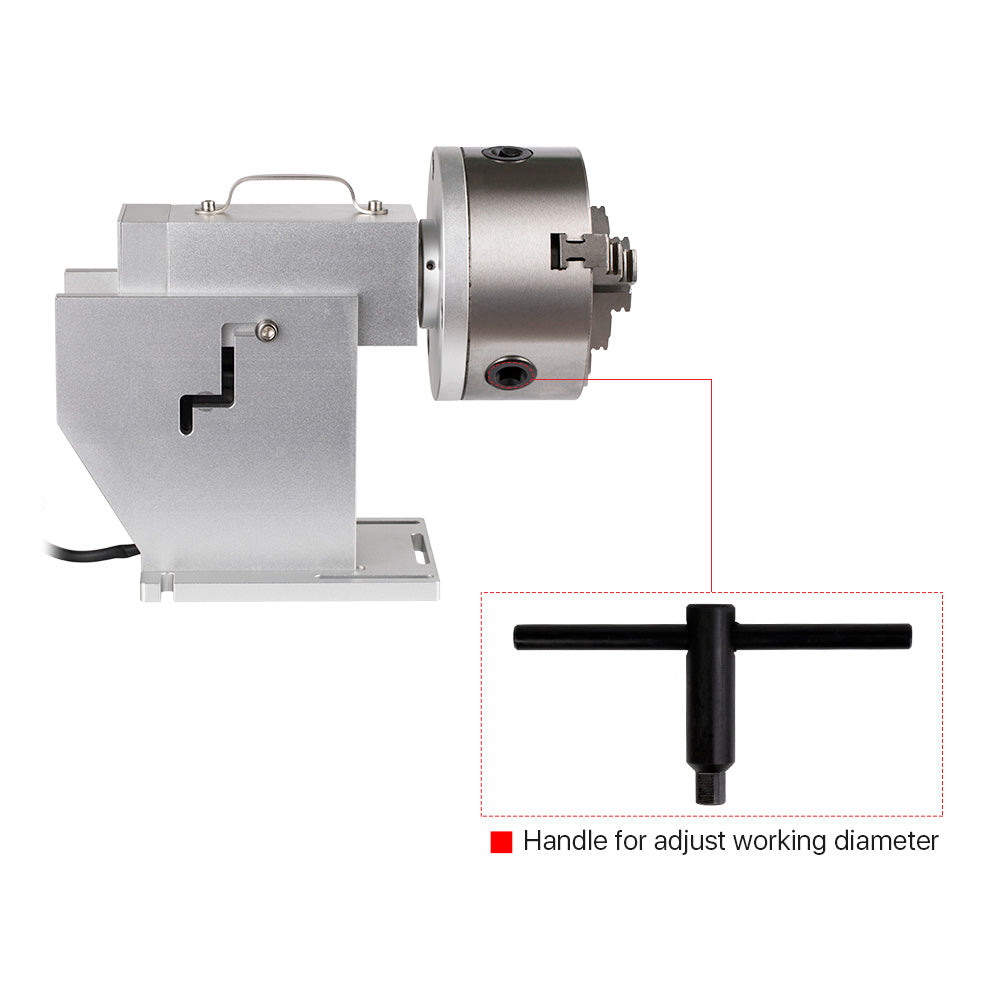 Rotary Attachment for Intelligent Marking Machine D50& D80