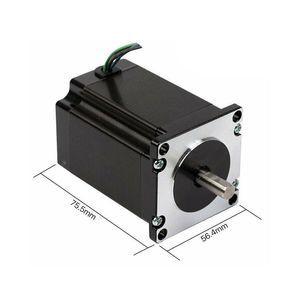 2 Phase CO2 Laser Stepper Motor NEMA 23 CR Series 4.4A 23CR76-440 - Cloudray Laser