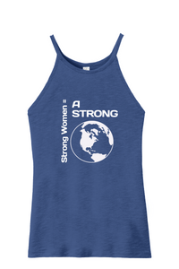 Strong Women = Strong World Sporty Tank
