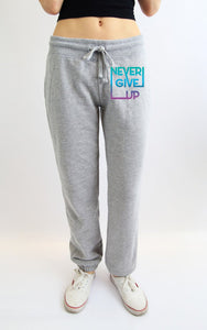 """Never Give Up"" Jogger Sweatpants"