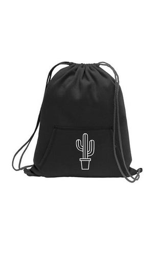 Cactus Sweatshirt Fleece Backpack