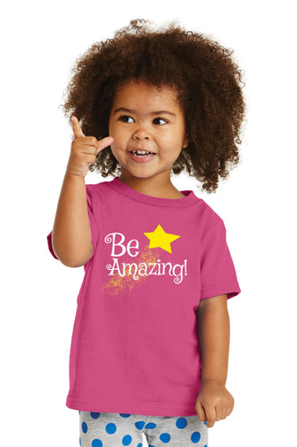 Be Amazing Toddler Cotton Tee