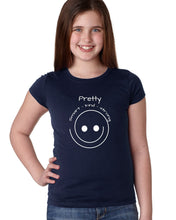 Pretty, Kind, Smart, Strong  Smiley T-Shirt
