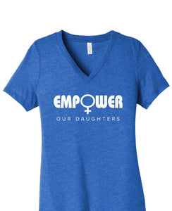 Empower Our Daughters V-Neck T-Shirt