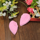 Leaf Shaped Silicone Press Mold Cake Decoration Mould Fondant Cake 3D Silicone Mould