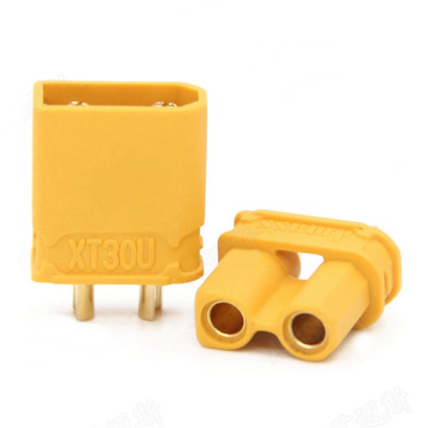 Amass XT30U 2mm Plug Connector Male And Female 1 Pair