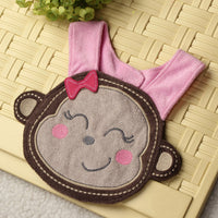 Baby Infant Cartoon Bib Waterproof Girl Boy Cotton Bibs Animals Soft Saliva Towels