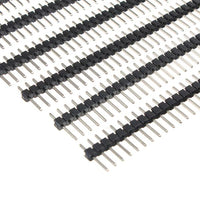 50 Pcs 40 Pin 2.54mm Single Row Male Pin Header Strip For  Prototype Shield DIY