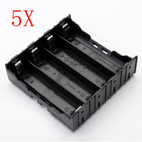 5Pcs E1A1 ABS Battery Box Holder For 4 x 18650