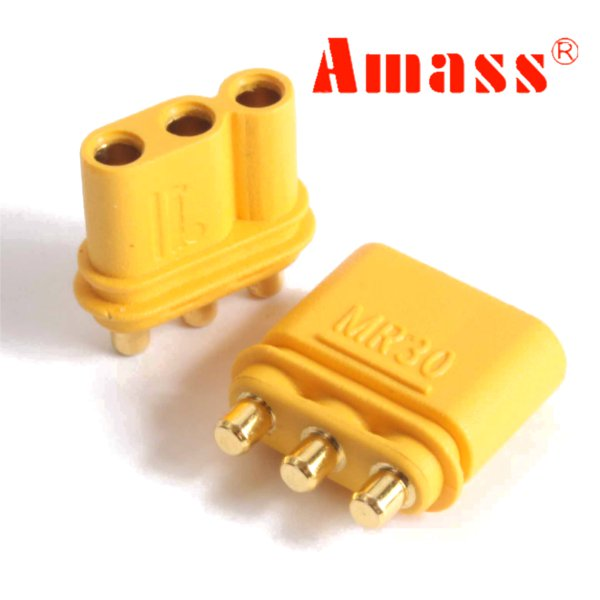 Amass MR30PB Connector Plug Female & Male 1 Pair