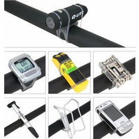 Bike Bicycle High Strength Straps Holder For Cell Phone Lights Computer
