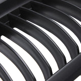 A Set Black Car Matte Front Grille Grills for BMW E90 LCT 3-Serise