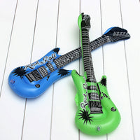 Baby Kids Air Inflatable Guitar Show Prop Toys Music Dream
